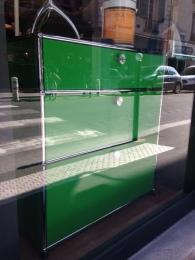 Odrè En'Ryll USM vert vitrine