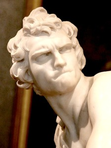 emotion colère rentrée David Le Bernin détail Borghese wikimedia