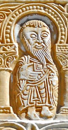 emotion détail linteau st génis des fontaines 1020 wikimedia commons CO - Copie