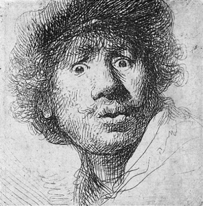Emotion Rembrandt_aux_yeux_hagards 1630 wiki commons