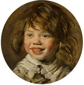 Emotion Rire Jeune garçon riant de Hals Frans l'ancien XVIIe s wiki commons - Copie